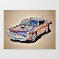 Pontiac GTO Canvas Print
