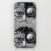 iPhone Cases featuring Owl Day & Owl Night by Jorge Garza