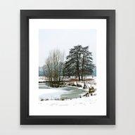 Wintertime In NRW Framed Art Print