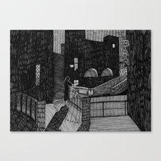 Le Notti Bianche Canvas Print