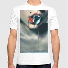 Blood Diamond White Mens Fitted Tee SMALL