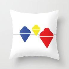 Whirlgigs Throw Pillow