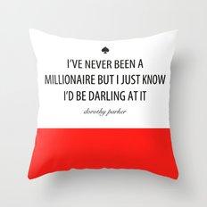 Kate Spade - Millionaire Throw Pillow