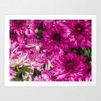 The Momma Flowers Taking… Art Print