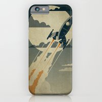 couple iPhone & iPod Cases featuring Night Launch by The Art of Danny Haas