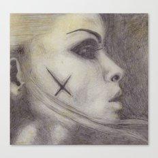hollow eyes Canvas Print