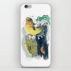 Salmon Jumping iPhone & iPod Skin