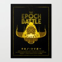 The Epoch Battle Canvas Print