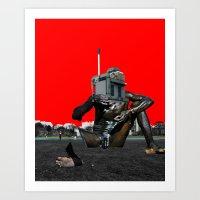 Modern Curse 2 Art Print