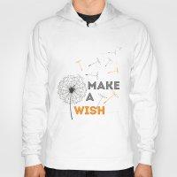 Make a wish orange Hoody