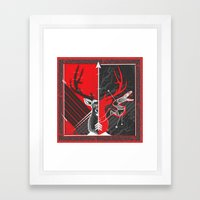 Death to the Adder Lying in Wait Framed Art Print