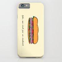 Ceci n'est pas un sandwich iPhone 6 Slim Case