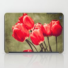 Red tulips  iPad Case