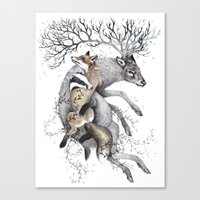 Protect Our Wildlife  Canvas Print