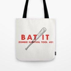 Bat it - Zombie Survival Tools Tote Bag