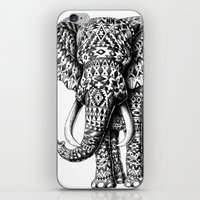 Navajo Elephant iPhone & iPod Skin