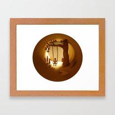 Swing (Balançoire) Framed Art Print