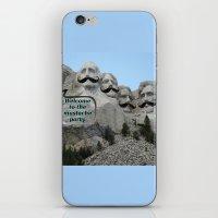 Mount Mustache iPhone & iPod Skin