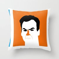BRUCES Throw Pillow