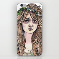 Ophelia iPhone & iPod Skin