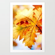 AUTUMN 6 Art Print