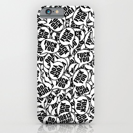 Fuck You. iPhone & iPod Case