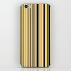HIGH SOCIETY VINTAGE BEACH STRIPES 001 iPhone & iPod Skin
