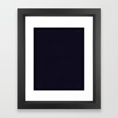Everything is Designed for a Reason Framed Art Print