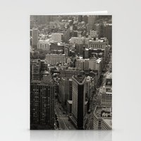 Old Downtown Stationery Cards