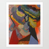 A Barn Dreams Of Sunsets Art Print