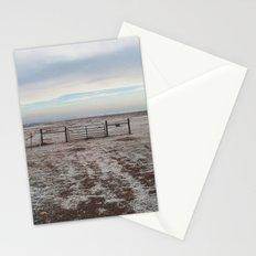 Snowy Gate Stationery Cards
