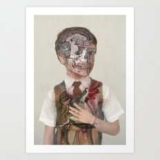Brain Child  Art Print