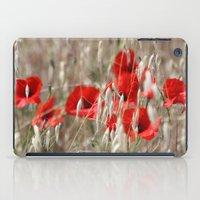 Poppies  - JUSTART © iPad Case