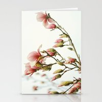 Portraits of Spring - III Stationery Cards