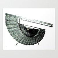 Iron Nautilus Art Print