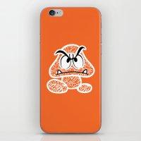 Goomba #CrackedOutBadGuy… iPhone & iPod Skin