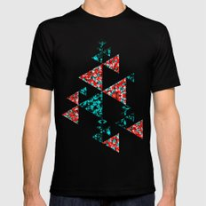 Butterflies SMALL Mens Fitted Tee Black