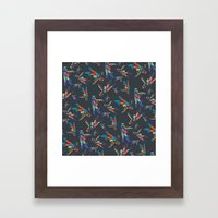 Colourful Astronaut Framed Art Print