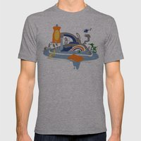 Sink Sank Sunk Mens Fitted Tee Athletic Grey SMALL
