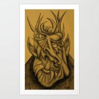 Nice Demon Art Print