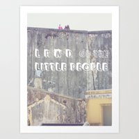 Land of the Little People Art Print