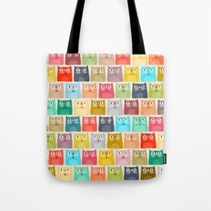 summer cats Tote Bag