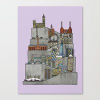 London Rising Canvas Print