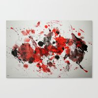 Acryl-Abstrakt 29 Canvas Print