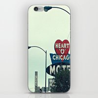 Heart 'O' Chicago Motel … iPhone & iPod Skin