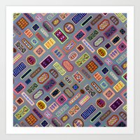 Multi-color Melody Art Print
