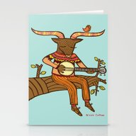 'Minotaurs Day Off' Stationery Cards