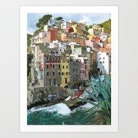Riomaggiori Art Print