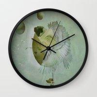 Birth Of An Angel Wall Clock