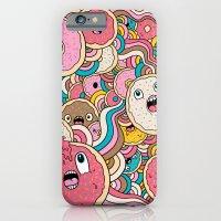 Donut Doodle iPhone 6 Slim Case